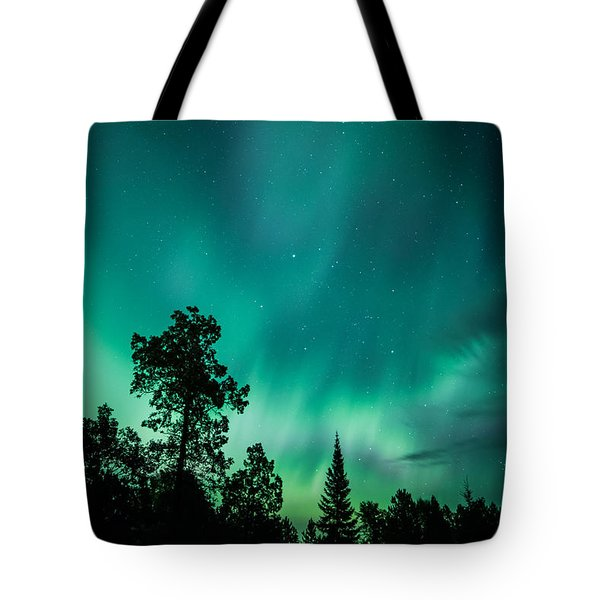 Northern Lights Tonight Tote Bag