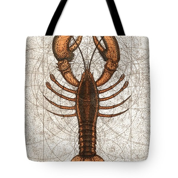 Northern Lobster Tote Bag by Charles Harden
