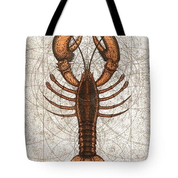 Northern Lobster Tote Bag