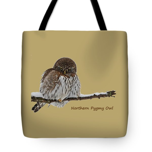 Northern Pygmy Owl 2 Tote Bag