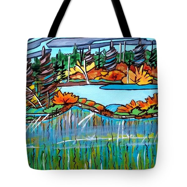 Northern Reflections 2 Tote Bag