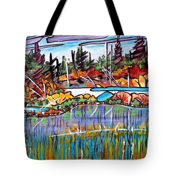 Northern Reflections Tote Bag