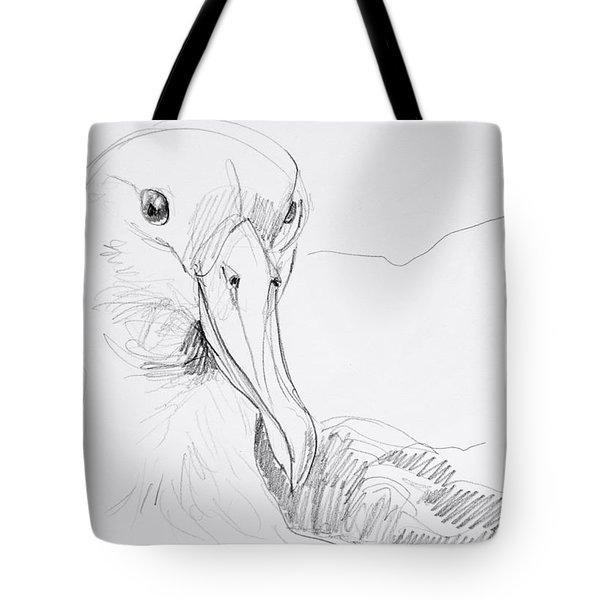 Northern Royal Albatross Tote Bag