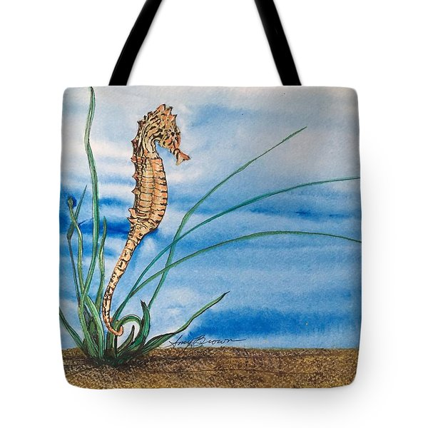 Northern Seahorse Tote Bag