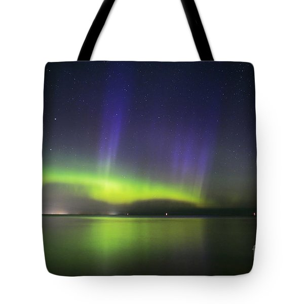 Northern Spirits Dance Tote Bag by Charline Xia