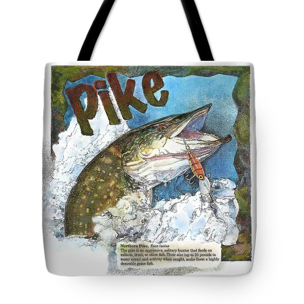 Northerrn Pike Tote Bag