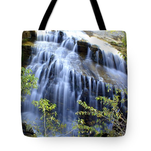 Northfork Falls Tote Bag by Marty Koch