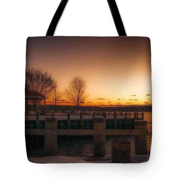 Northport Sunset Tote Bag