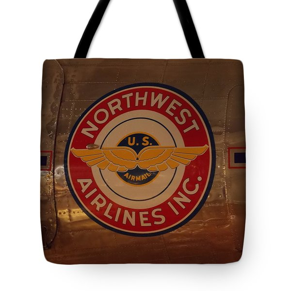 Northwest Airlines 1 Tote Bag