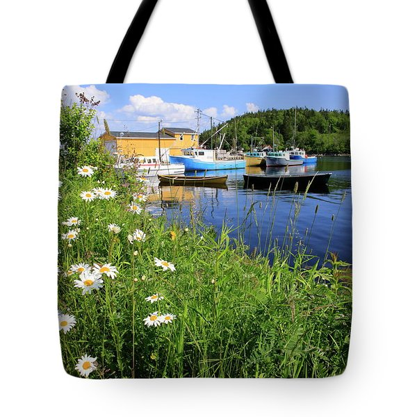 Northwest Harbour, Nova Scotia Tote Bag
