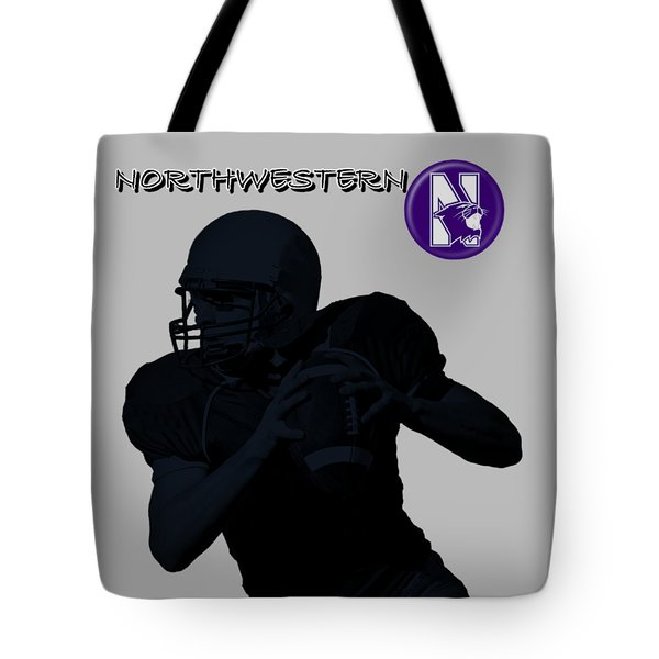 Northwestern Football Tote Bag