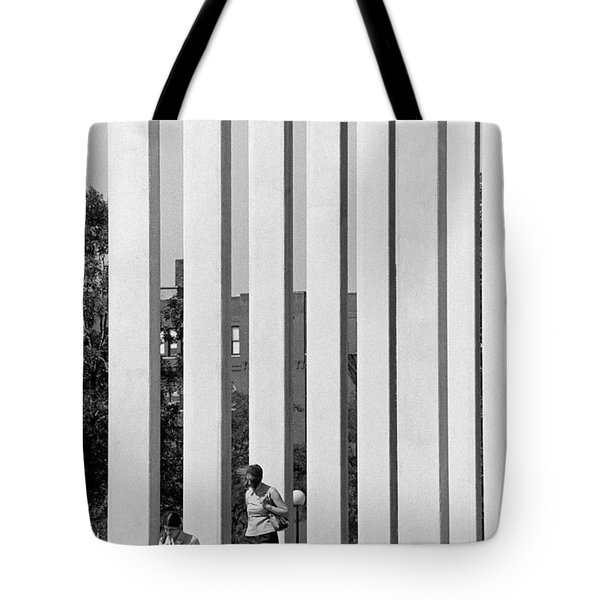 Northwestern National Life Columns Tote Bag