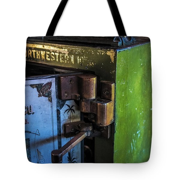 Tote Bag featuring the photograph Northwestern Safe by Paul Freidlund