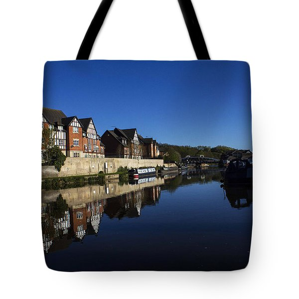 Northwich Marina Tote Bag