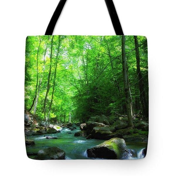 Northwood Brook Tote Bag