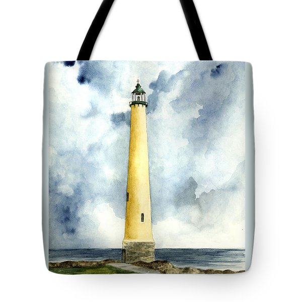 Northwood Lighthouse Tote Bag by Michael Vigliotti
