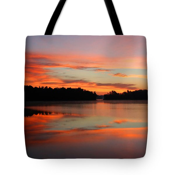 Northwoods Tranquility 2 Tote Bag