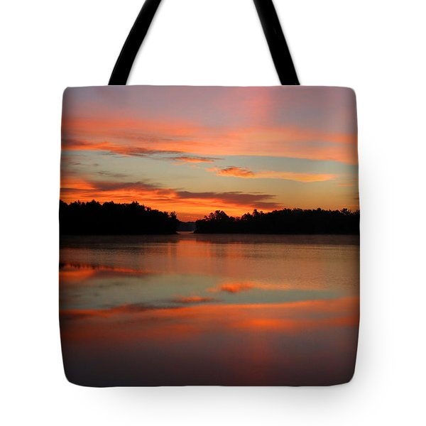 Northwoods Tranquility Tote Bag