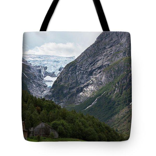 Norway Glacier Jostedalsbreen Tote Bag