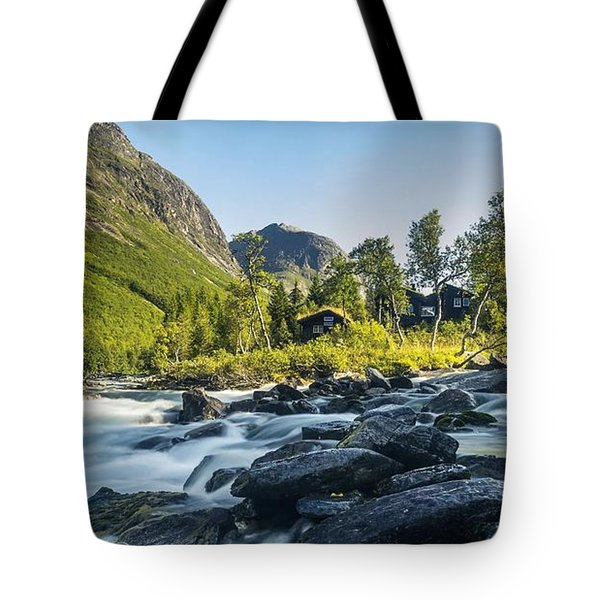 Norway II Tote Bag by Thomas M Pikolin