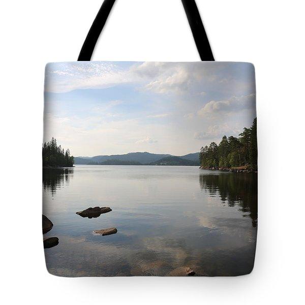 Norwegian Landscape  Tote Bag