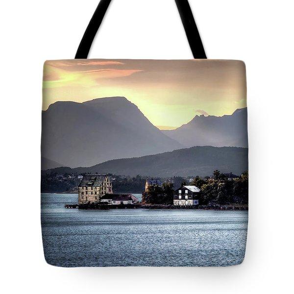Norwegian Sunrise Tote Bag