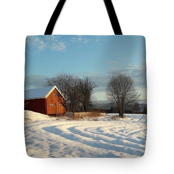 Norwegian Winter  Tote Bag