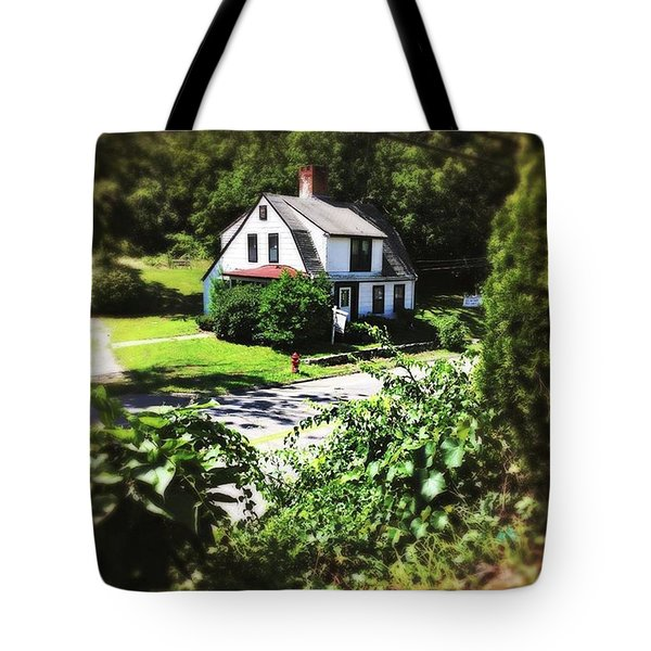 Cottage Tote Bag