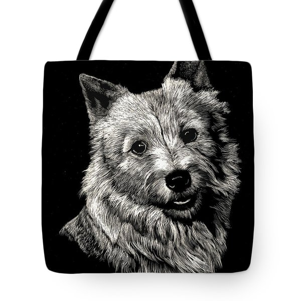 Norwich Terrier Tote Bag by Rachel Hames