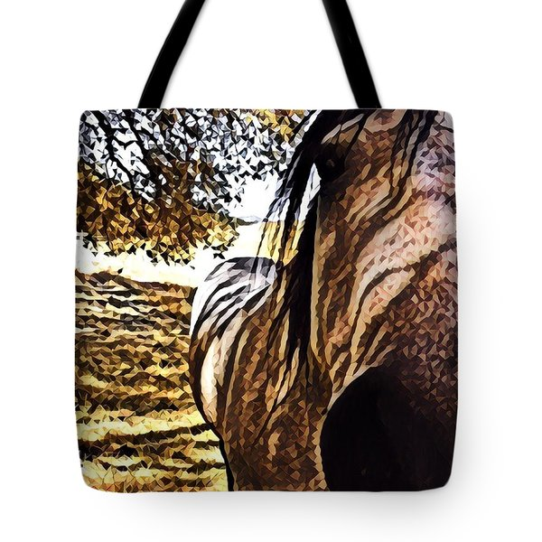 Nosey Belle Tote Bag