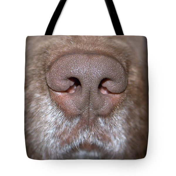 Nosey Tote Bag by Debbie Stahre