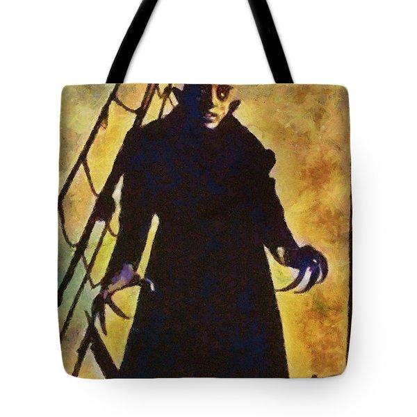 Nosferatu, Classic Vintage Horror Tote Bag
