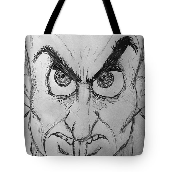 Nosferatu Tote Bag by Yshua The Painter