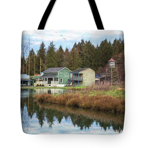 Nostalgia - Hope Valley Art Tote Bag
