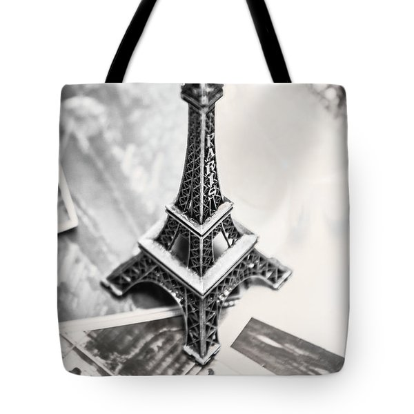 Nostalgia In France Tote Bag