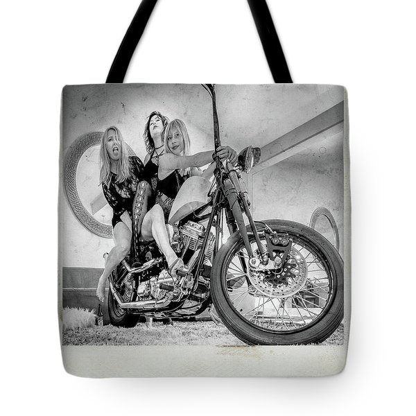 Tote Bag featuring the photograph Nostalgia- by JD Mims