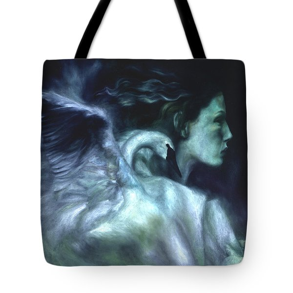 Tote Bag featuring the painting Nostalgia by Ragen Mendenhall