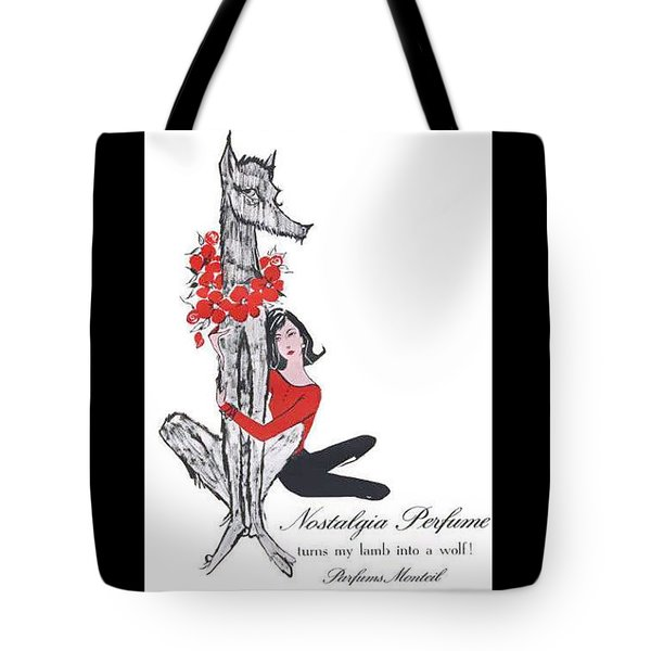 Tote Bag featuring the digital art Nostalgia by ReInVintaged