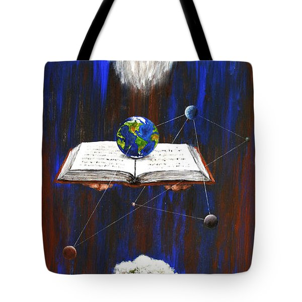 Nostradamus Tote Bag by Arturas Slapsys