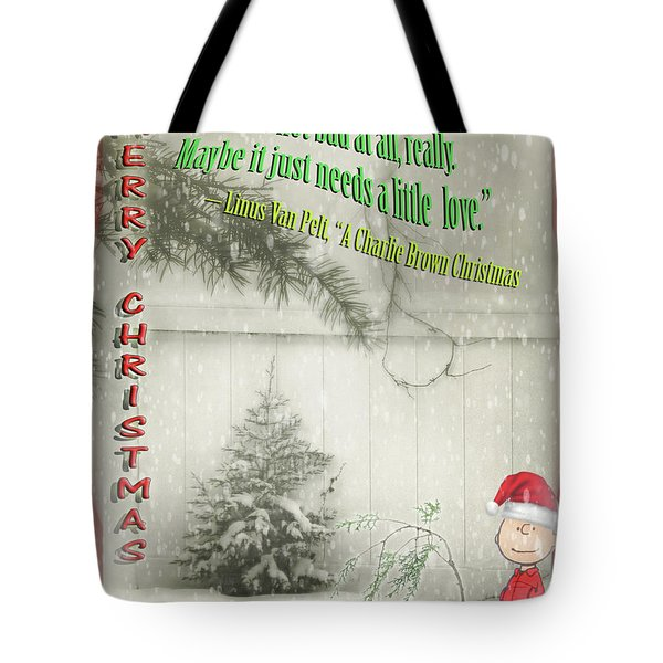 Not A Bad Little Tree Tote Bag