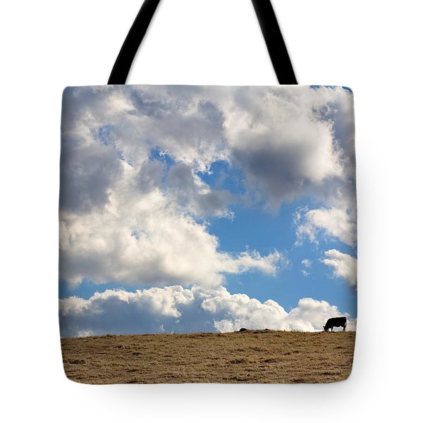 Not A Cow In The Sky Tote Bag