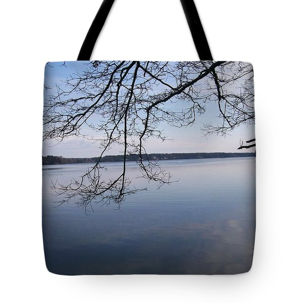 Tote Bag featuring the digital art Not A Ripple by Barbara S Nickerson
