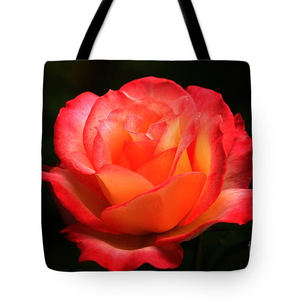 Not A Second Hand Rose Tote Bag by James Eddy