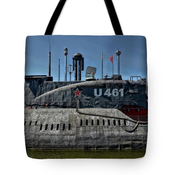 Not A Yellow Submarine Tote Bag