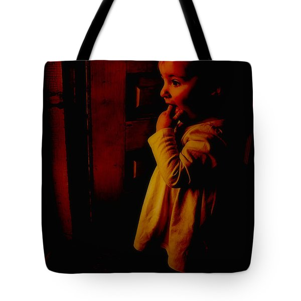 Not Afraid Of The Dark Tote Bag