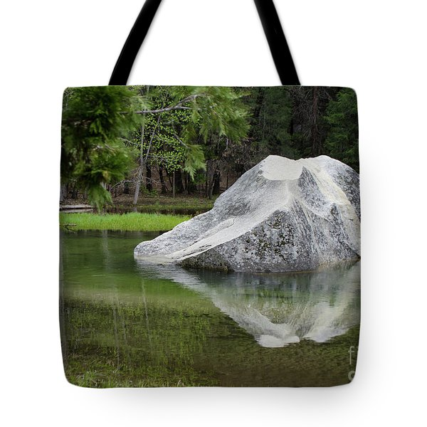Not An Iceberg Tote Bag by Debby Pueschel
