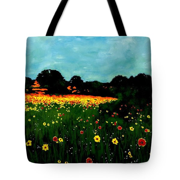 Not Another Bluebonnet Painting Tote Bag