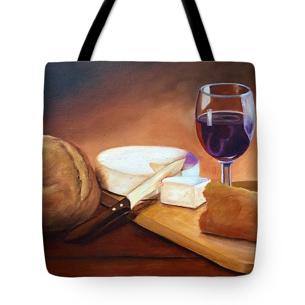 Not By Bread Alone  Tote Bag