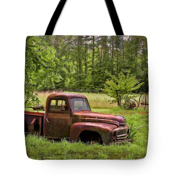 Not Forgotten Tote Bag by Debra and Dave Vanderlaan