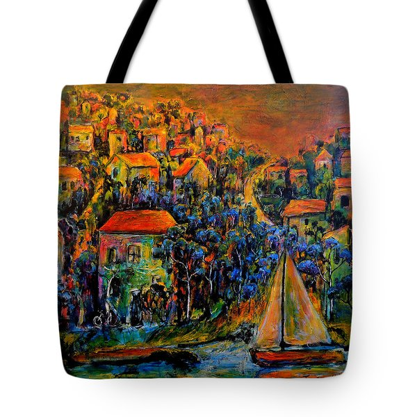 Tote Bag featuring the painting Not Forgotten by Jeremy Holton